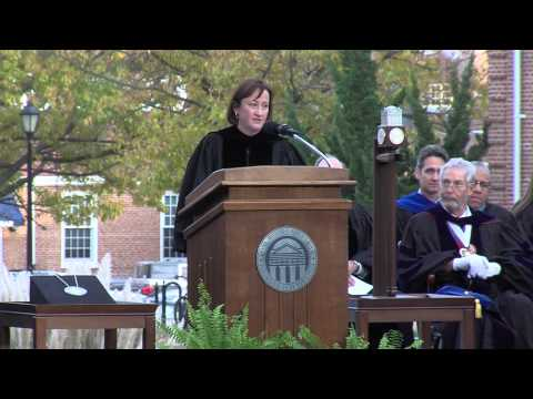 Longwood University Presidential Inauguration Taylor Reveley IV