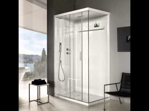Fun Retro Shower Door for Fun Shower Spot