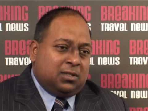 Manoj Gunawardena, Head of Worldwide Passenger Sales, Sri Lankan Airlines @ WTM 2007