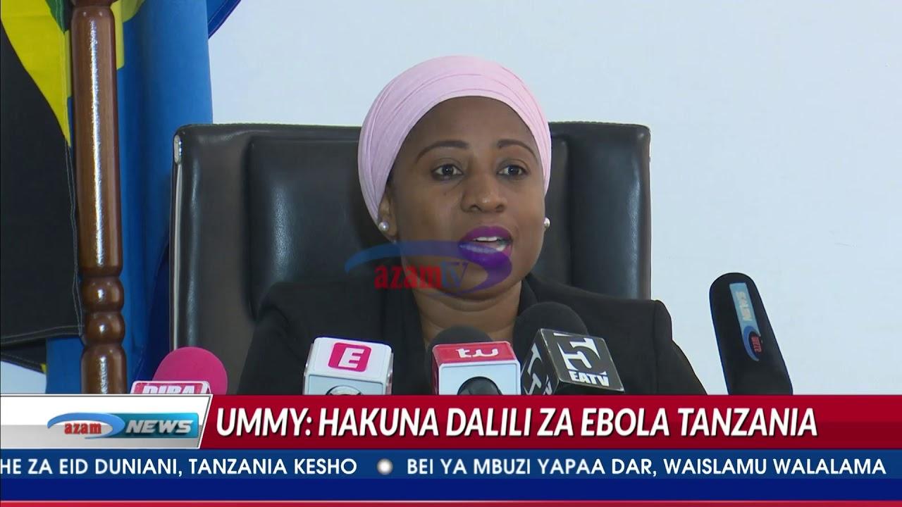 Download Ummy Mwalimu 'Tanzania haina mgonjwa mwenye dalili ya Ebola'