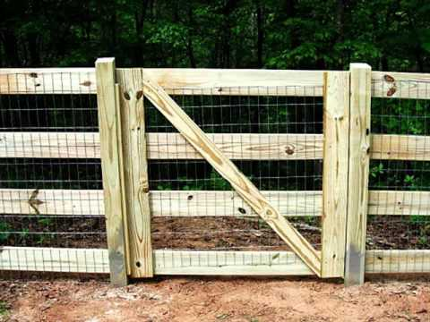 Split Rail Fence Gate Design