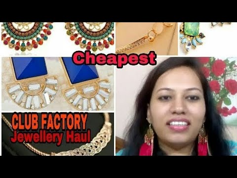 Club Factory Fashion Jewellery Haul & Review - Online Shopping In India -2