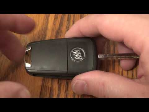 Buick LaCrosse / Encore Key Fob Battery Replacement – EASY DIY