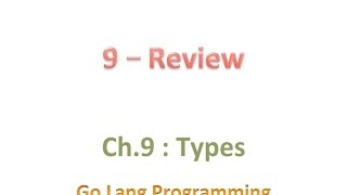 #golang #striversity 09.09 - Go section review