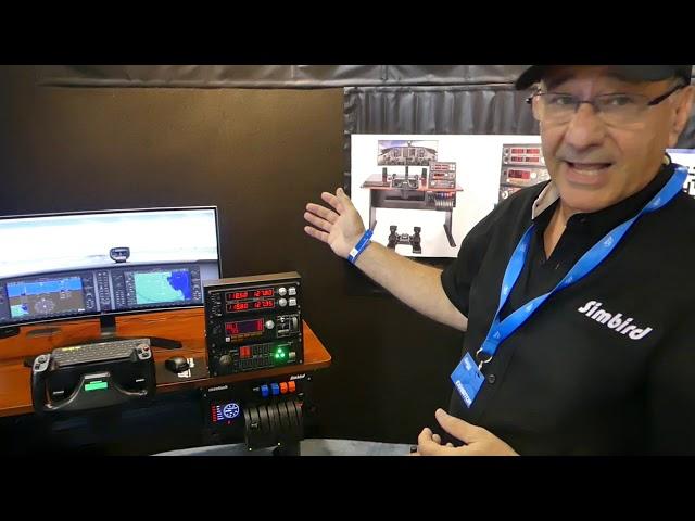 SimBird, a turnkey, desktop flight simulator
