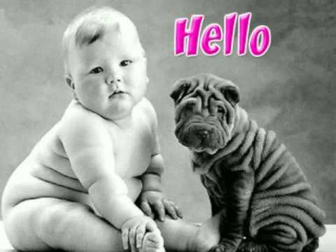 Funny hellos