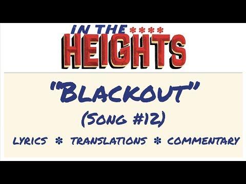 The Blackout Lyrics