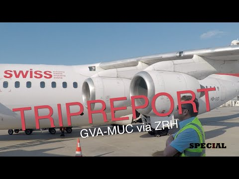 Special #94 TRIPREPORT - Will I make my connection? GVA-MUC via ZRH with Swiss Int. Airlines