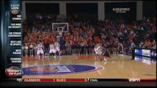 Lehigh Basketball - CJ McCollum - Ice in his Veins vs Bucknell
