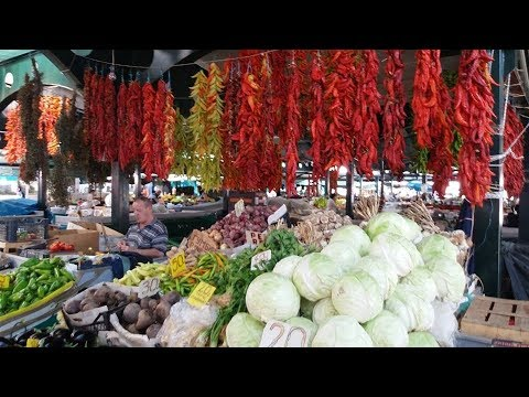 MEMORIES OF MACEDONIA ~ BITOLA PAZAAR (Bitola Market/Bazaar) CULINARY ADVENTURE