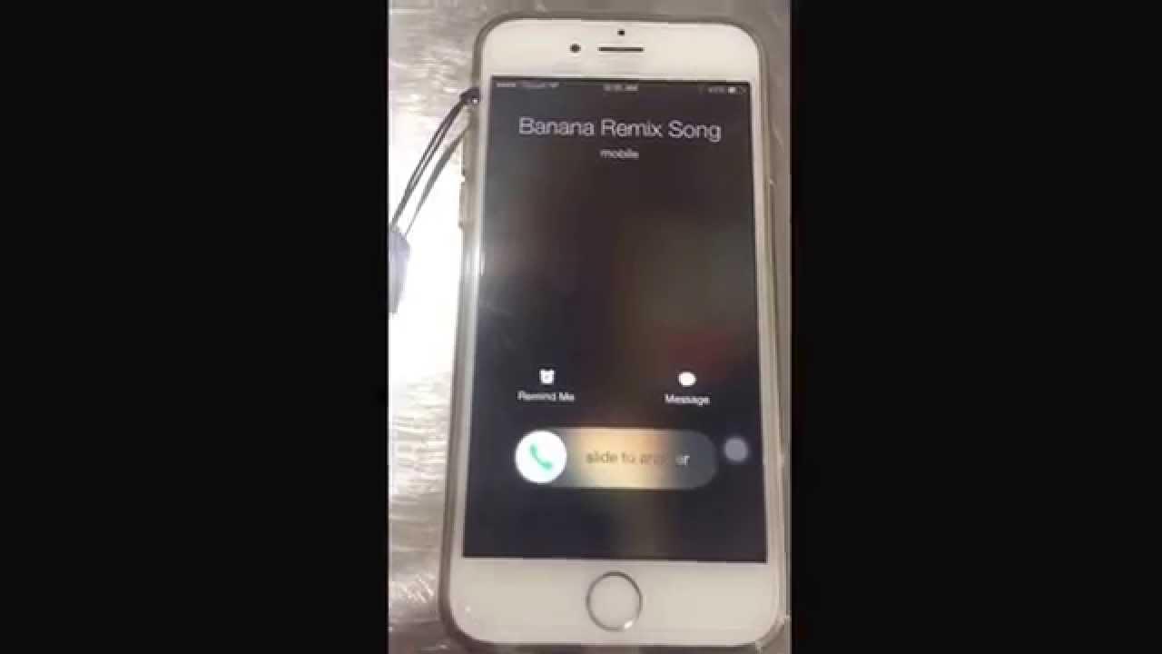 Banana remix ringtone song