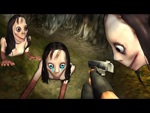MOMO Is Crying - MOMO MOTHER BIRD Horror Full Gameplay | Android Scary Game