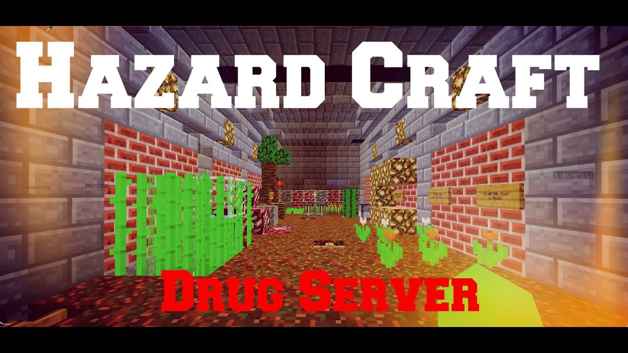 hazard craft drug server factions raiding pvp survival drugs
