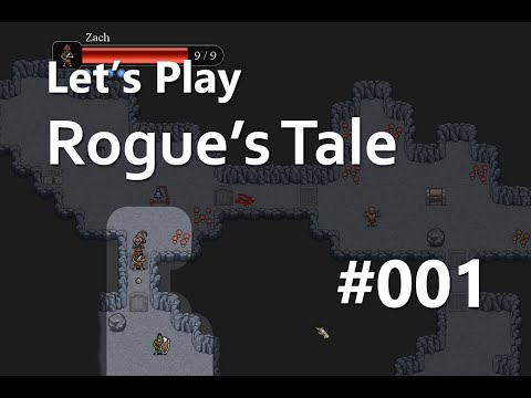 Let's Play Rogue's Tale (Roguelike RPG) Episode 01