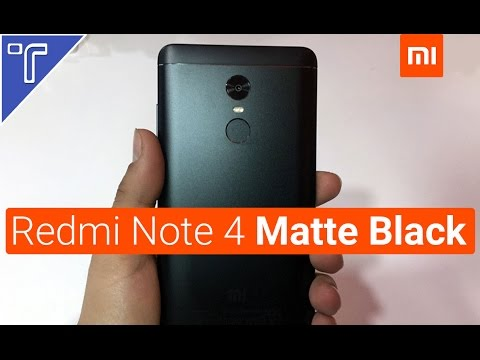 Xiaomi Redmi Note 4 Matte Black Handson Better Than Redmi Note 3