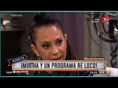 ¡Mirtha y un programa re loco!