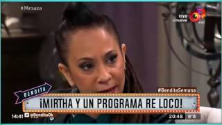 ¡Mirtha y un programa re loco!