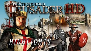Udwin Highlights. Stronghold Crusader Madness Again!
