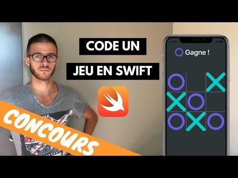 Coding Challenge : MORPION (Tic Tac Toe) - Xcode & Swift 4 (FR)