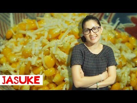 Cara mudah lepas biji jagung dari bonggolnya   Masak Jasuke   Jagung Susu Keju