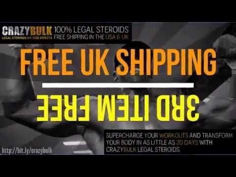 Crazybulk Legal Steroids ♣ FREE UK & US SHIPPING ♣