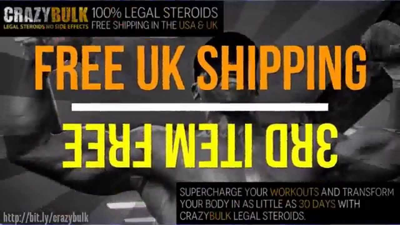 Crazybulk Legal Steroids Free Uk Us Shipping Youtube