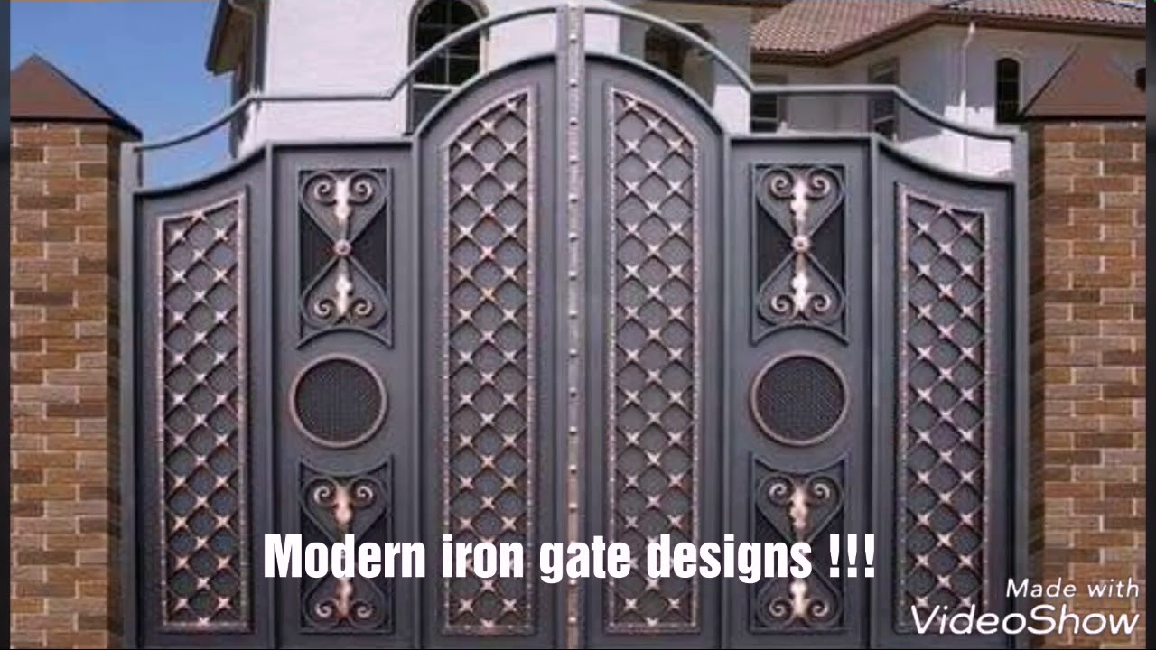 Modern iron gate designs || Get an idea || - YouTube on Iron Get Design  id=76055