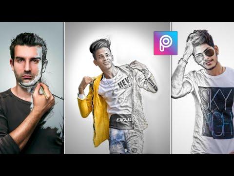 PicsArt Sketch Effect | PicsArt Editing Tutorial | AC EDITION🔥 thumbnail