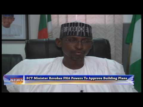 FCT Minister Revokes FHA'S Power To Approve Building Plans