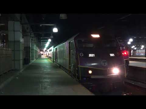 MBTA COMMUTER TRAIN ACTION AND OVERVIEW