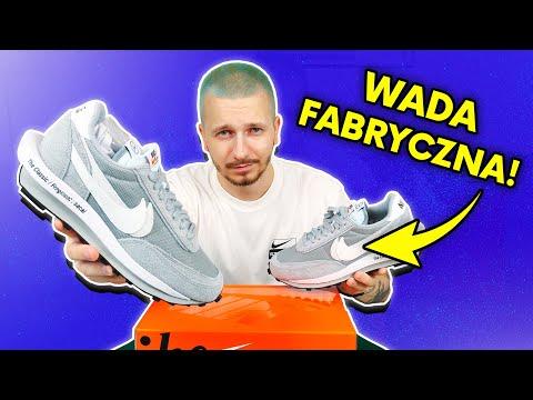 """Dostałem buty Nike z wadą fabryczną! Unboxing Sacai x Fragment x Nike LD Waffle """"Light Smoke Grey"""""""
