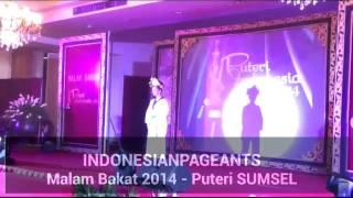 Malam Bakat 2014 - Puteri Indonesia SUMSEL