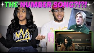 """Logan Paul - """"THE NUMBER SONG (Official Music Video) prod. by Franke"""" REACTION!!!"""