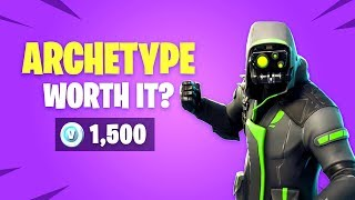 Is *NEW* ARCHETYPE Skin Worth it? Fortnite Battle Royale Daily Items Update