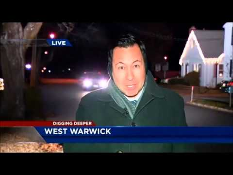 Mystery Boom or Possible  Meteor Explosion over West  Warwick, Rhode Island  Dec 8th 2014