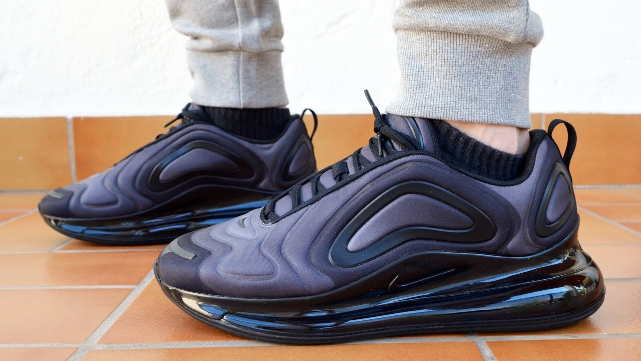 Nike Air Max 720 Black Unboxing and on Feet Review