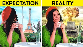 Expectation 🆚 Reality by 5-Minute Decor: Crafts, Beauty Hacks, Magic Tricks