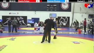 2012 DSMI WM 48 KG: Opelia Felipe (UC Women`s Wrestling) vs. Desiree Ramos (Lindenwood)