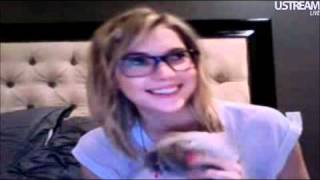 Ashley Benson Live Chat 1/5/12 Part 2(second half of the chat., 2012-01-06T03:16:48.000Z)