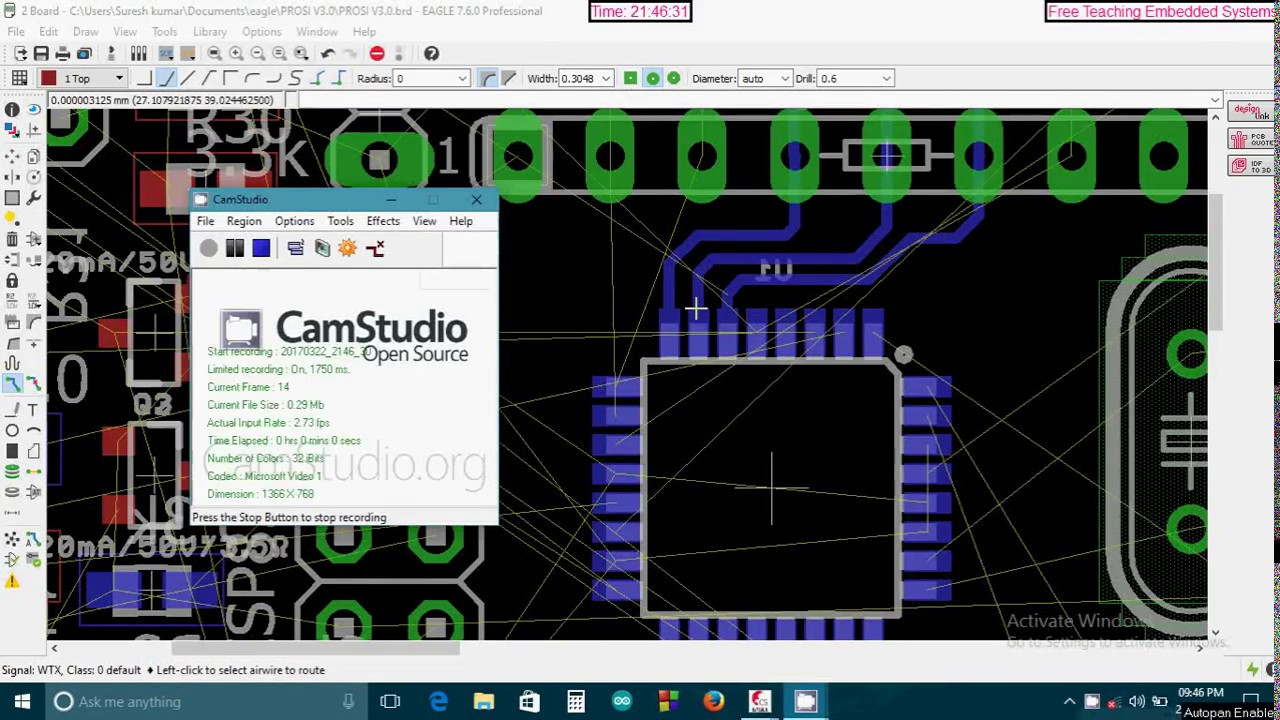 PCB Design for Home Automation - YouTube