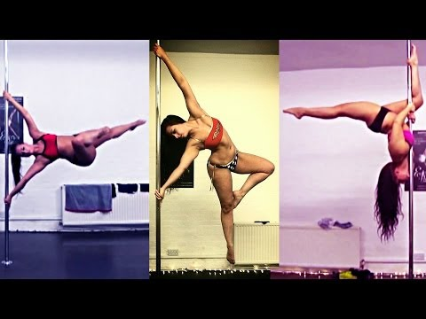 Advanced Pole Tricks: Lifts, Flags, Drops, Flips, Switches, Spins [June 2014]