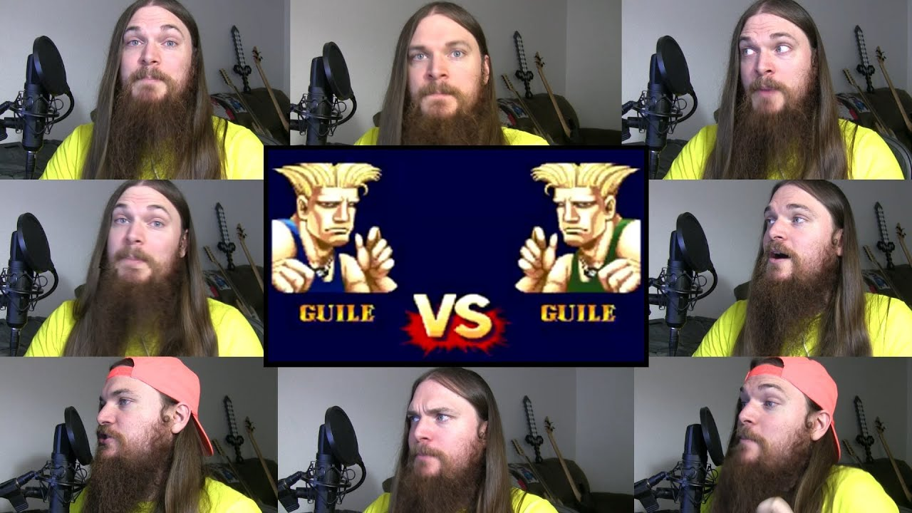 Street Fighter 2 - Guile Theme Acapella