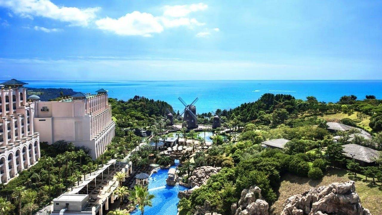 Lotte Hotel Jeju Seogwipo Jeju Island South Korea 5 Star Hotel