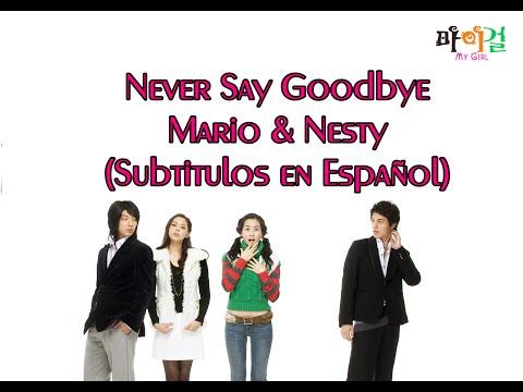 Never Say GoodBye - Mario y Nesty (Sub. en español)