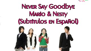 Video Never Say GoodBye - Mario y Nesty (Sub. en español) download MP3, 3GP, MP4, WEBM, AVI, FLV Maret 2018