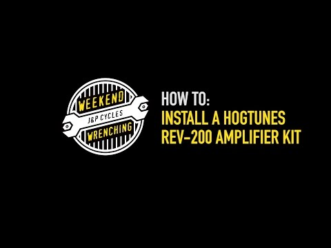 Weekend Wrenching: Hogtunes Amp and Speaker Kit Installation