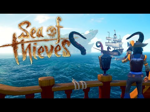 The QUEST for the Sea of Thieves Kraken! - Sea of Thieves Gameplay