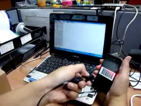 Marson USB Mobile Mini Pocket Barcode Scanner MT1095 for Smart Phone Demonstration