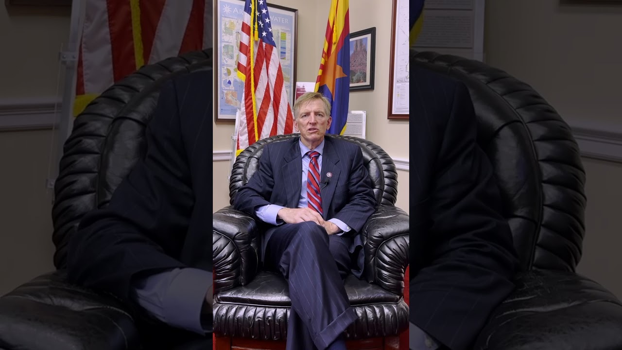 WATCH: Rep. Paul Gosar Thanks Project Veritas for #CovidVaxExposed Part 1