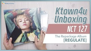 [Ktown4u Unboxing] NCT 127 - Repackage Album [REGULATE] 엔시티 언박싱 Kpop